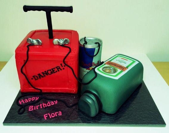 Jager Bomb Cake