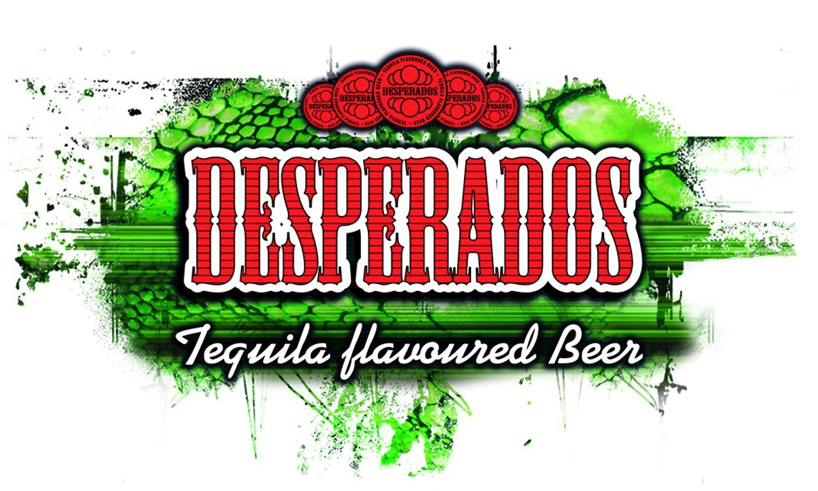 Why The Name Desperados A Desperado Is A Person Who Decides What They Want To Do With Their Lives This Is A Young Pe In 2020 Flavored Beer Desperado Beer Beer Logo