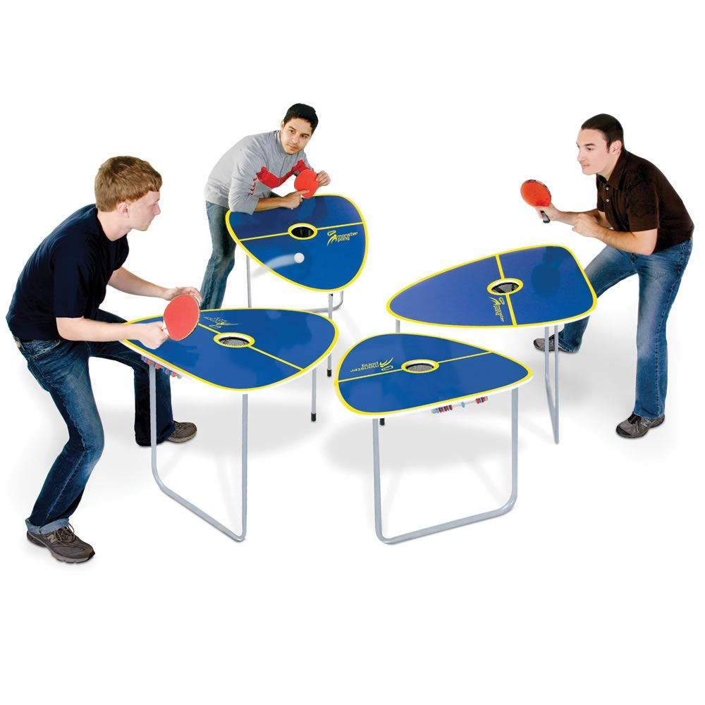 Marvelous Four In One Game Table #29 - The Quad Table Tennis Game. This Is The Tennis Table Game With Four  Separate Tables That Pits Up To Four Players Against One Another For  Unpredictable, ...