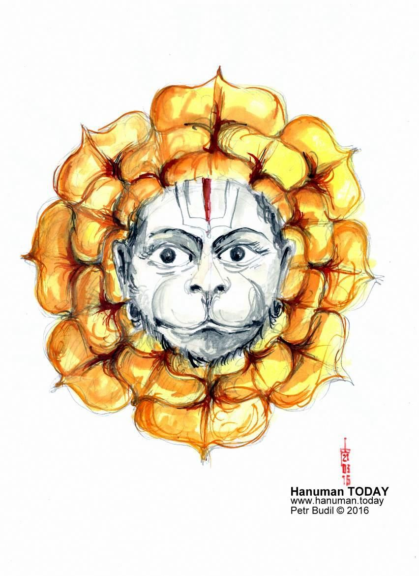 Monday, March 21, 2016  http://www.hanuman.today/product/march-21-2016/