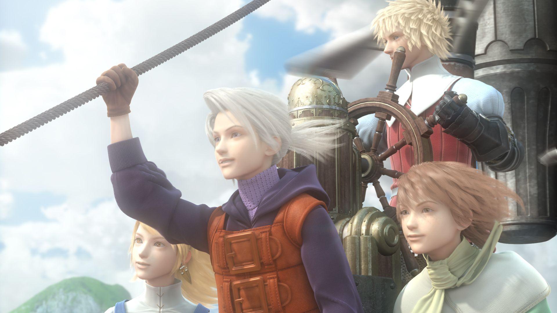 Final Fantasy Iii Refia Luneth Arc Ingus Kartinki