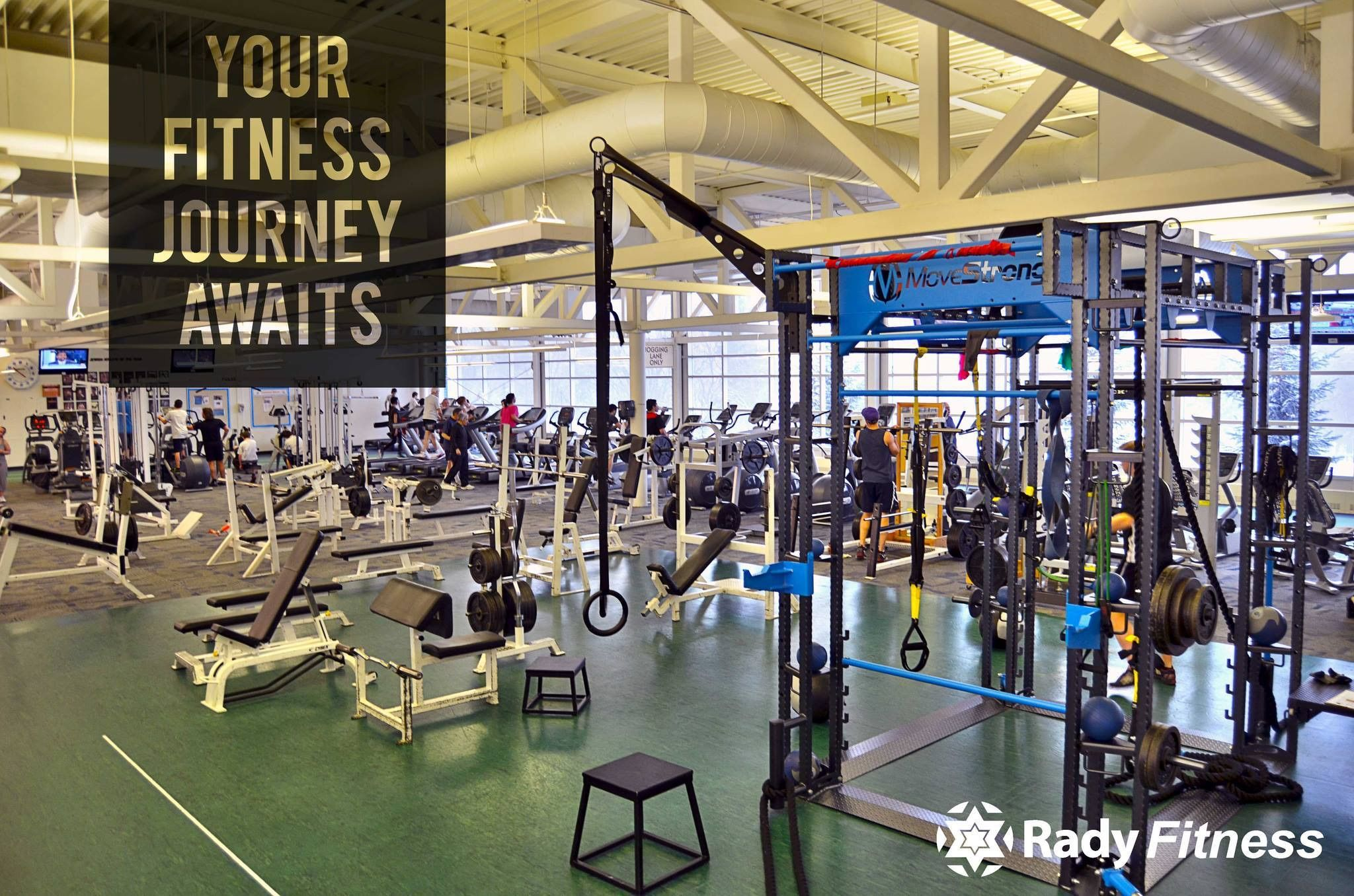 Rady Jcc Movestrong Club Fts Fitness Journey You Fitness Gym Equipment