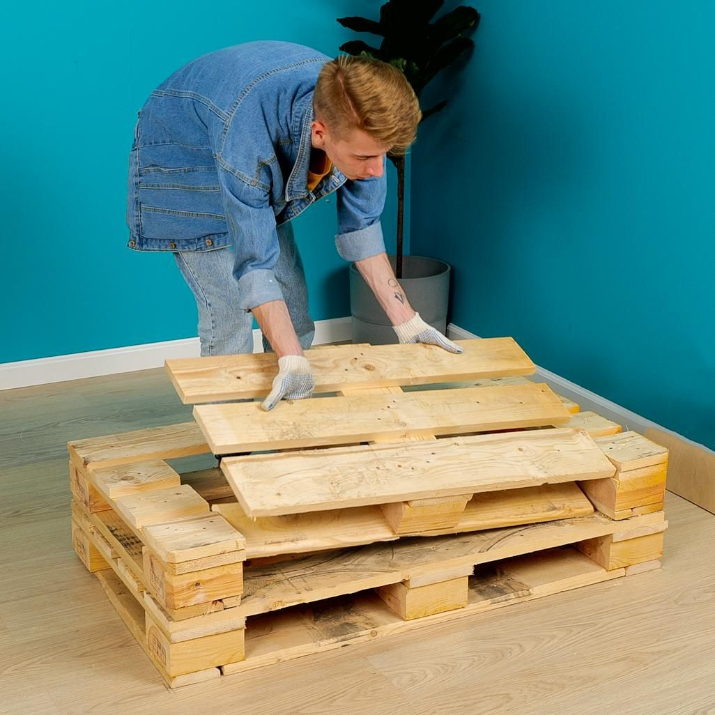 Don't think that it's trash! Three great ideas to make furniture for your cozy home