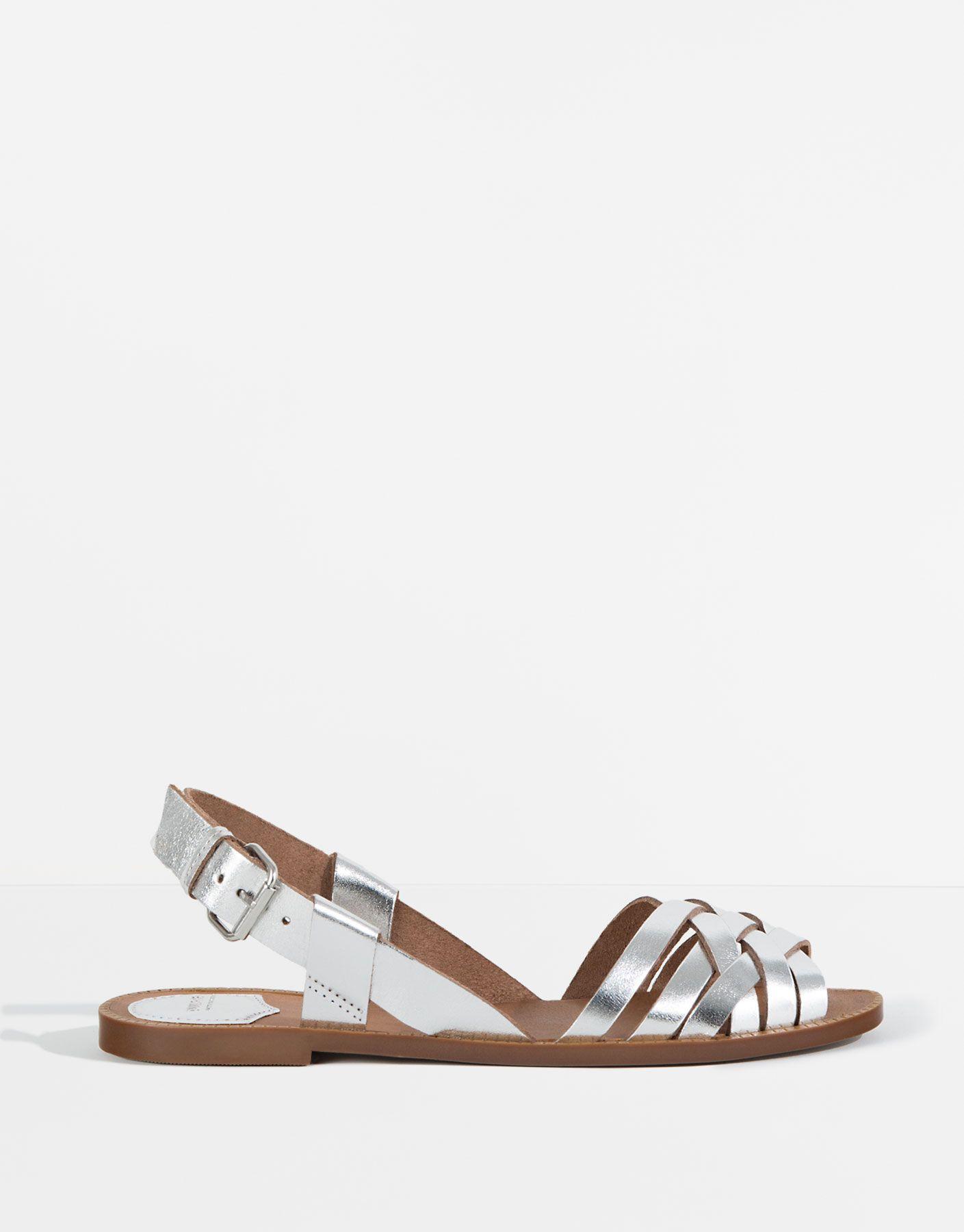 FranceModa amp;bear Cuir Sandales Chaussures Femme Pull 54ARjL