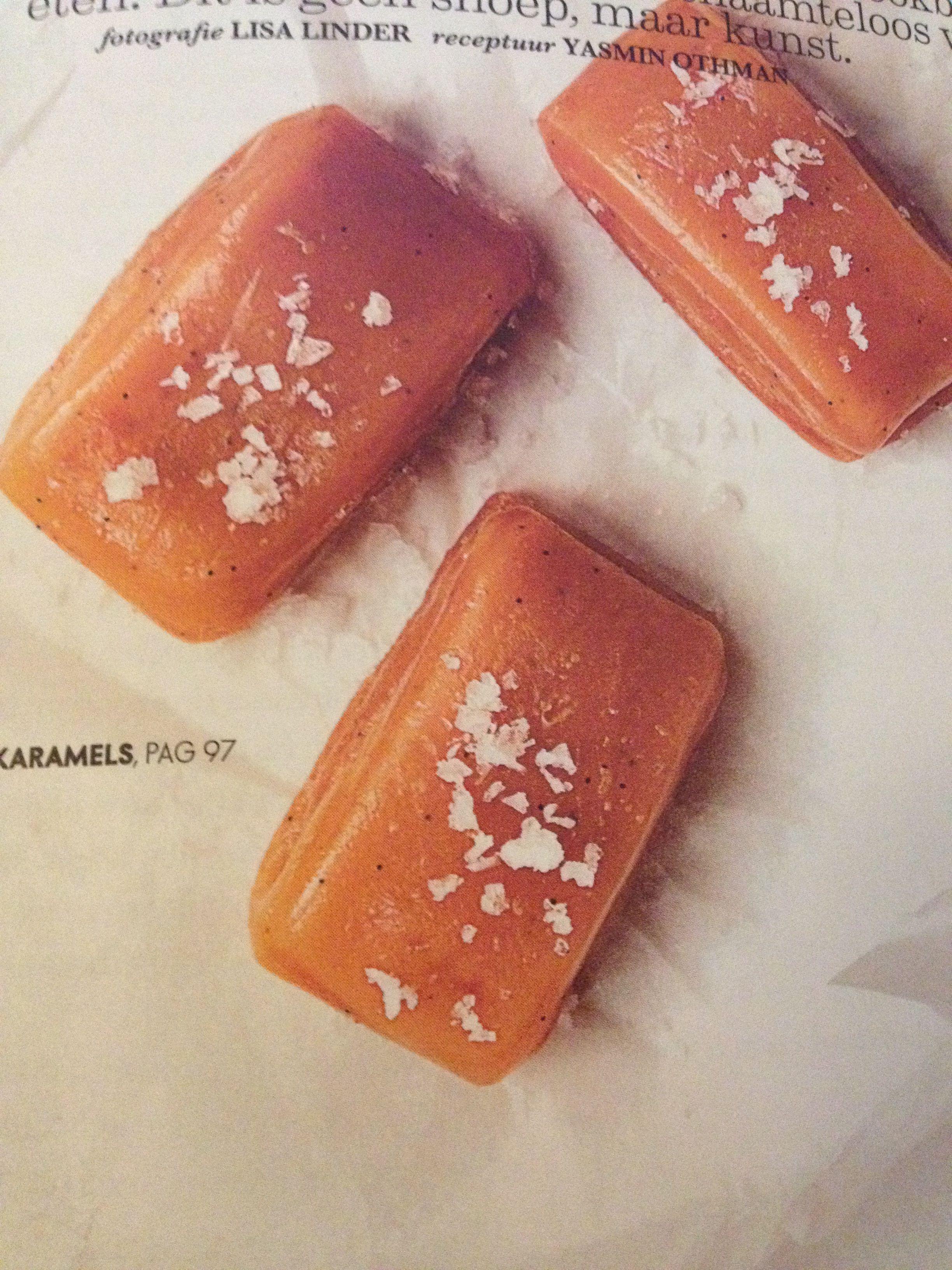 Zoute karamels. Elle Eten n01/2015 blz. 97