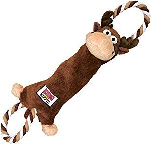 Kong Tugger Knots Moose Dog Tug Toy Baxter Loves Rope Toys And