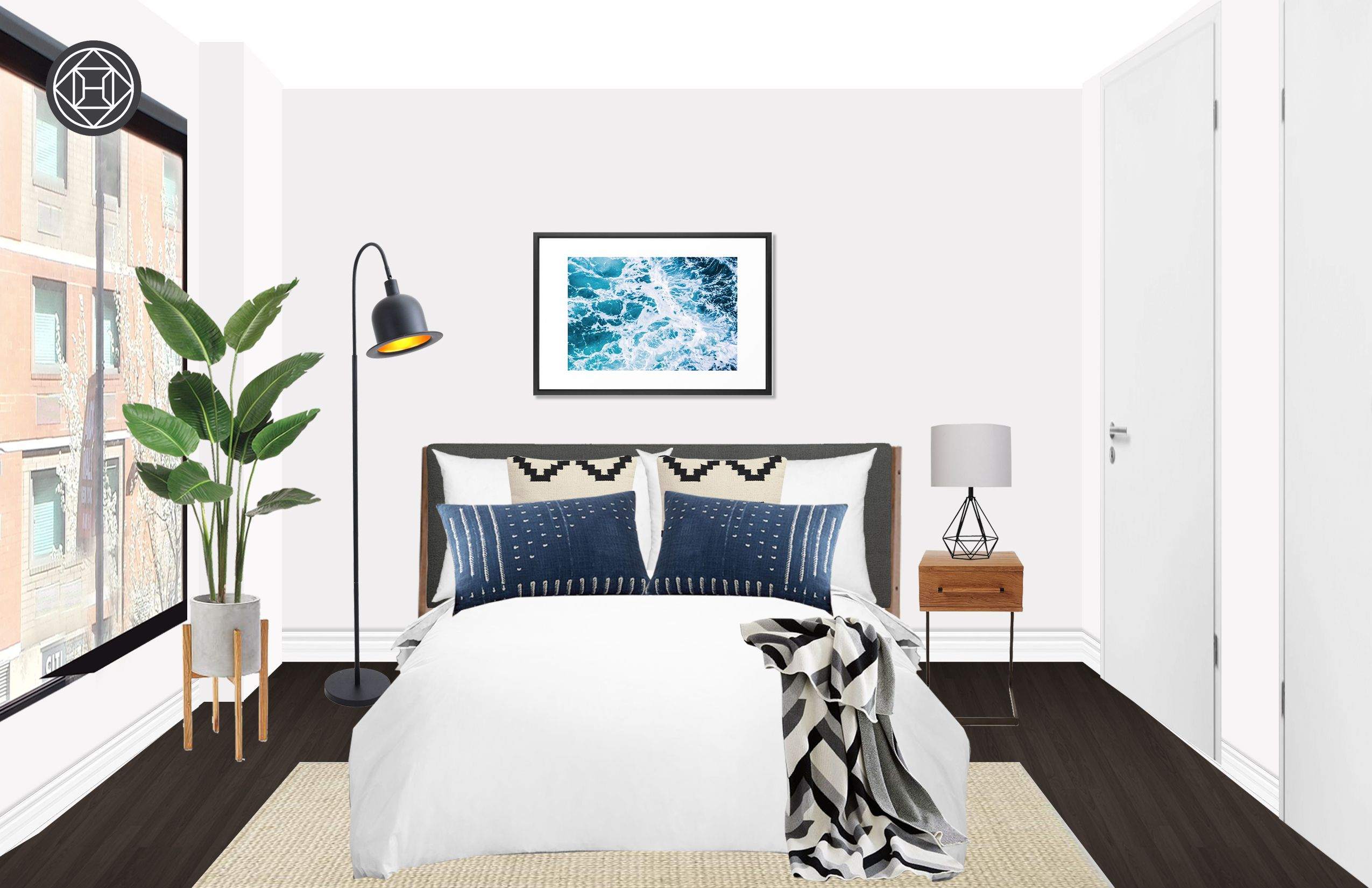 Modern, Industrial, Minimal Bedroom Design by Havenly ...