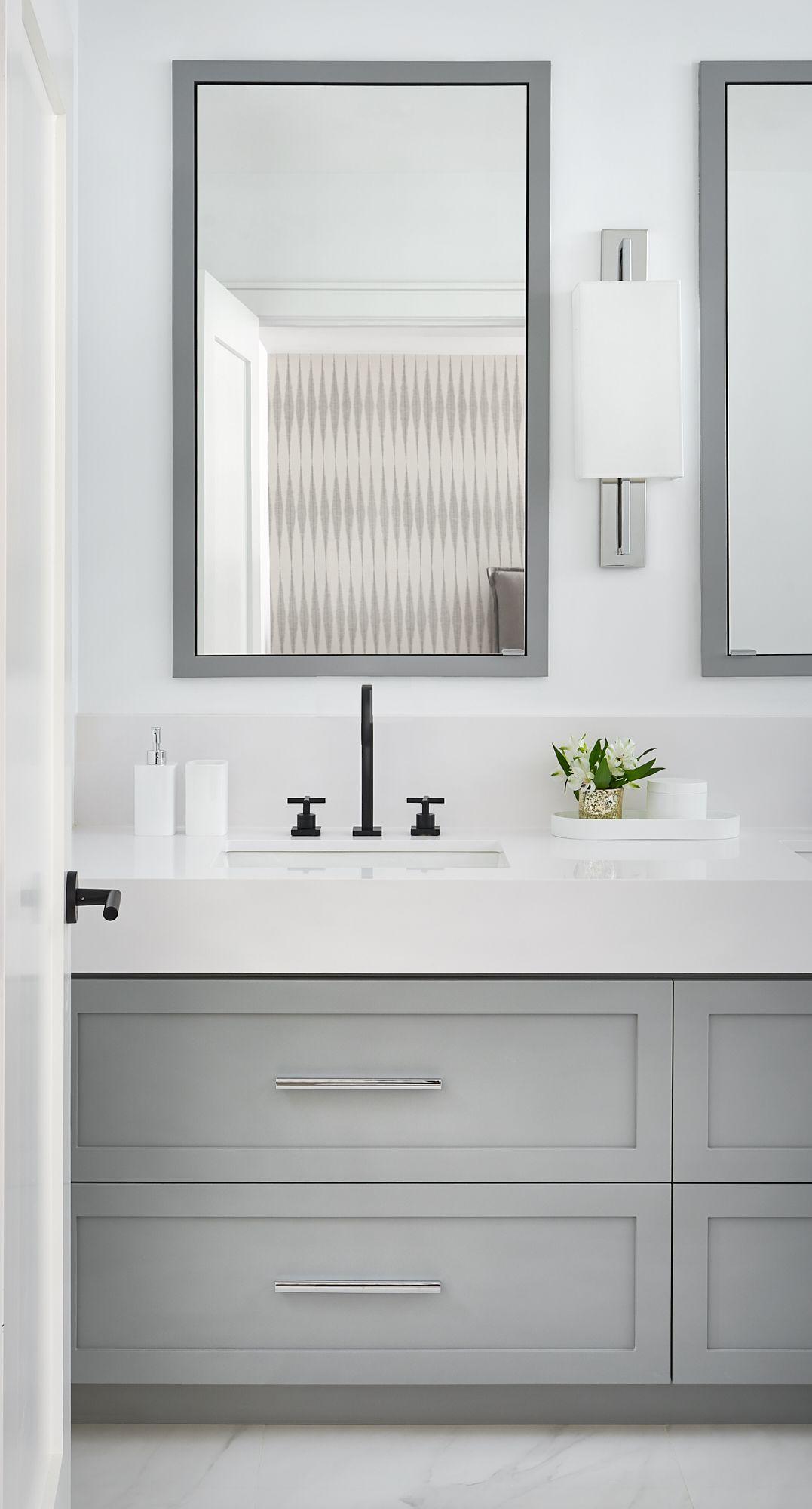Master Ensuite Interior Design Black Bathroom Mirrors Bathroom Mirror Cabinet Black Faucet Bathroom