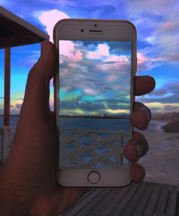 зеркальное отражение фото айфон профессионального фотографа, фотосессии