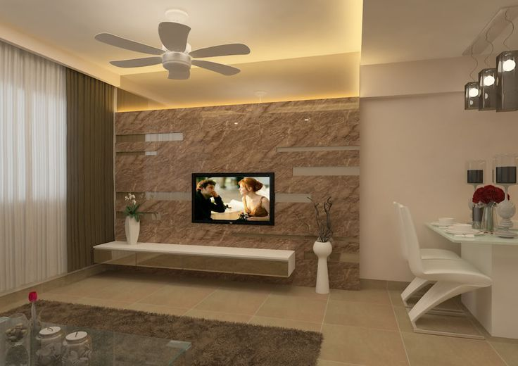 Television feature wall feature walls houses for Interior tv wall designs for hall