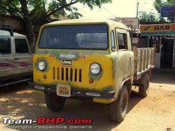 4x4 Van Team Bhp 4x4 Van Mahindra Jeep Classic Jeeps