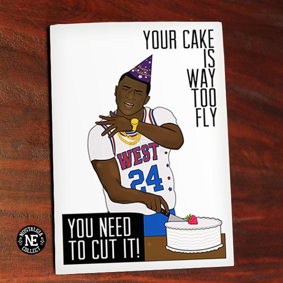 Your Cake Is Way Too Fly