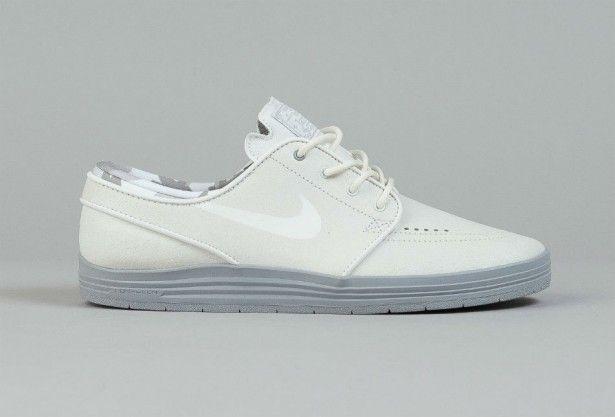 9796b276a9f8 Nike SB Lunar Stefan Janoski Summit White Wolf Grey Mais