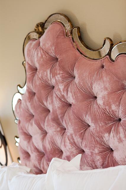 Ten 25 Pink Headboard Velvet Headboard Velvet Furniture