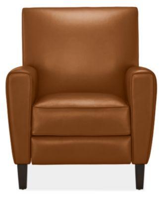 Groovy Room Board Harper Recliner In Vento Cognac In Leather Short Links Chair Design For Home Short Linksinfo