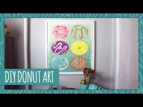 DIY Donut Art - HGTV Handmade - YouTube