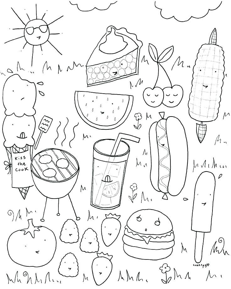 Coloring Pages Summer Appealing Coloring Pages Summer In Seasonal ...