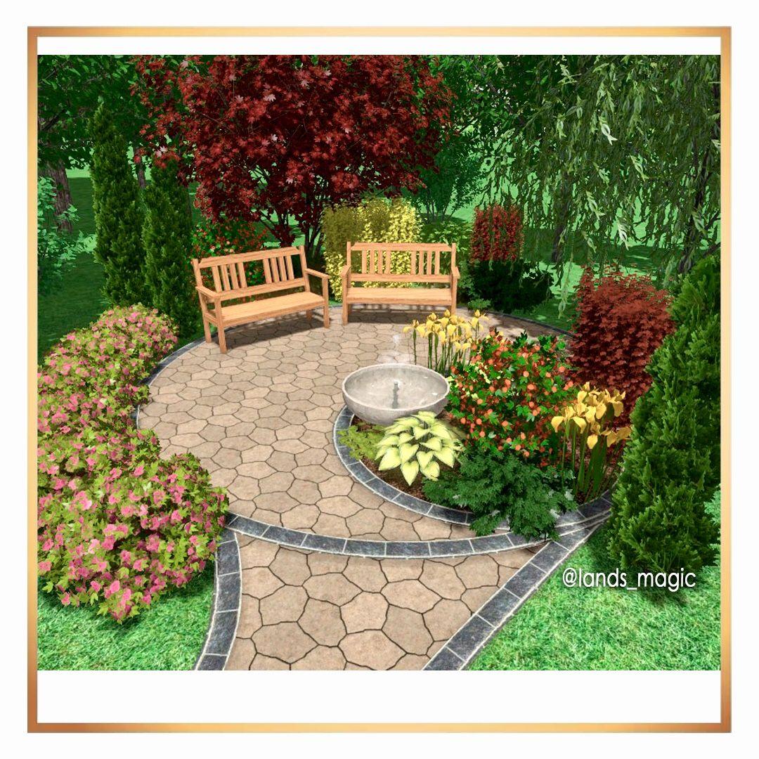 Landshaftnyj Dizajn Outdoor Decor Patio Home Decor [ 1080 x 1080 Pixel ]
