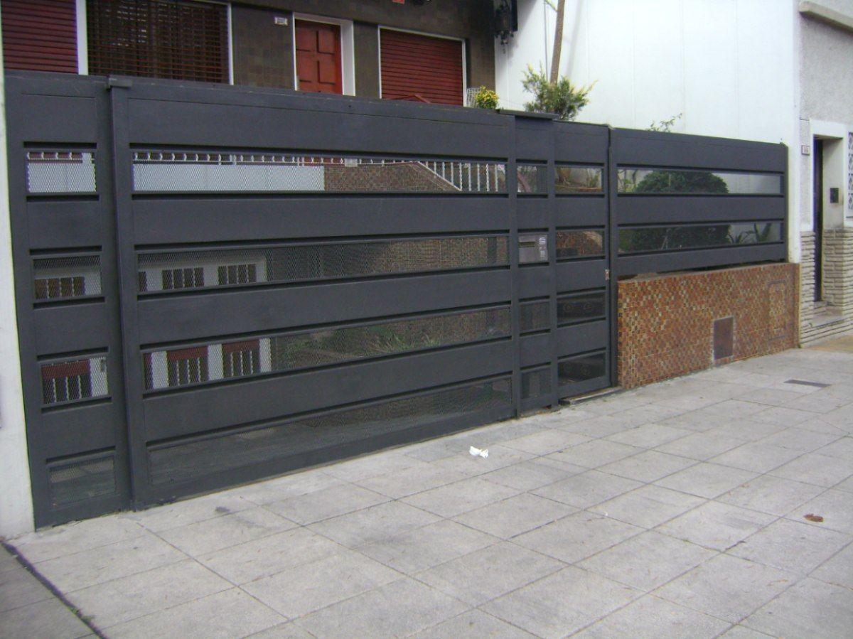 Herreria herrero rejas puertas malla sima portones for Puertas de casa