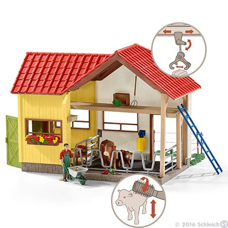 Perfect Playset For The Little Farmer In The Family Schleichfarm Schleich Playset Cool Toys