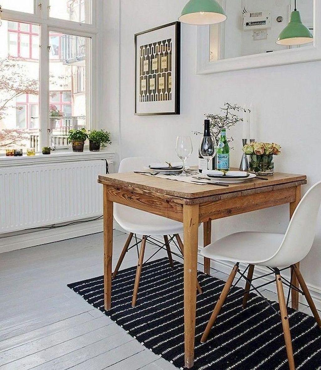 50 Minimalist Small Dining Room Decoration Ideas On A Budget