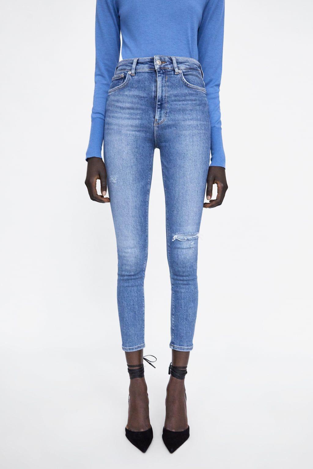 9f5367bb Jeans zw premium 80s high waist venice blue in 2019   Fa-fa-fashion ...