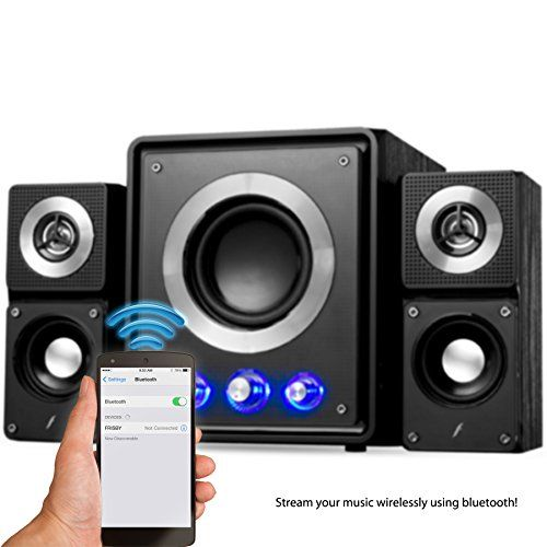 Frisby FS2500BT Home Audio Bluetooth Wireless Stereo 21 Channel