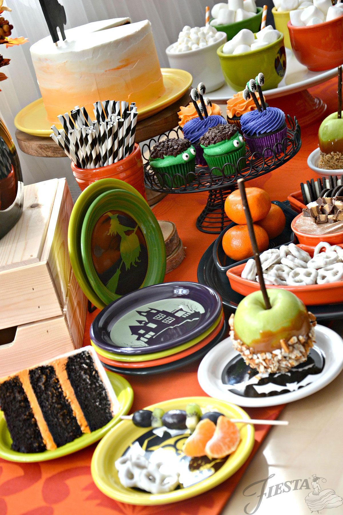 tablescapes fiesta dinnerware always festive