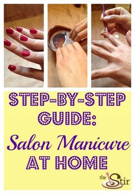 The Stir-Get a Glam Salon Manicure at Home (PHOTOS)
