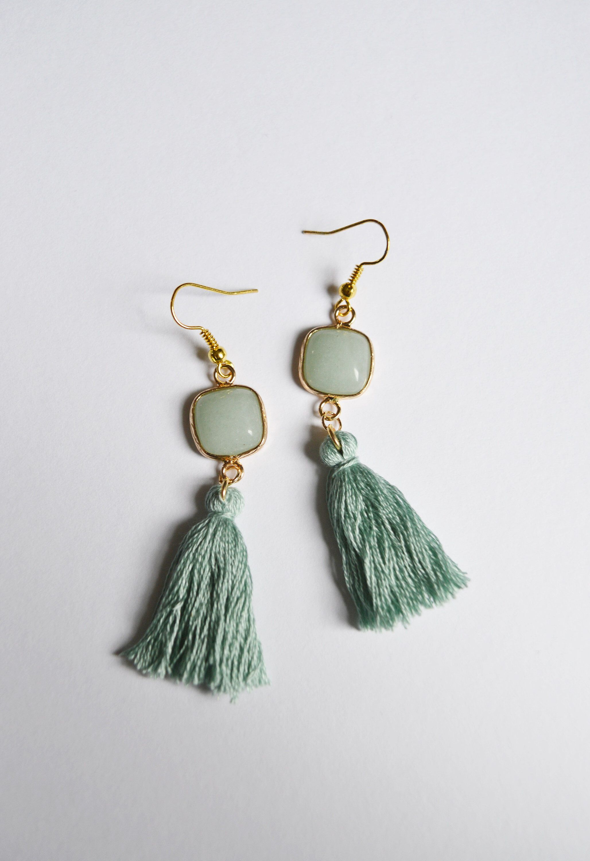 hoops tassel earrings fringe the colors in on melody hoop different available ehsani products