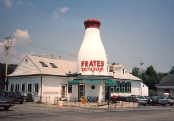 Frates Dairy The Bottle Restaurant 2840 Acushnet Ave New Bedford Ma