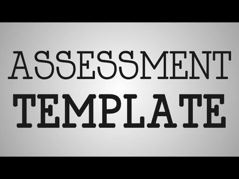 Nursing Tip | Assessment Template