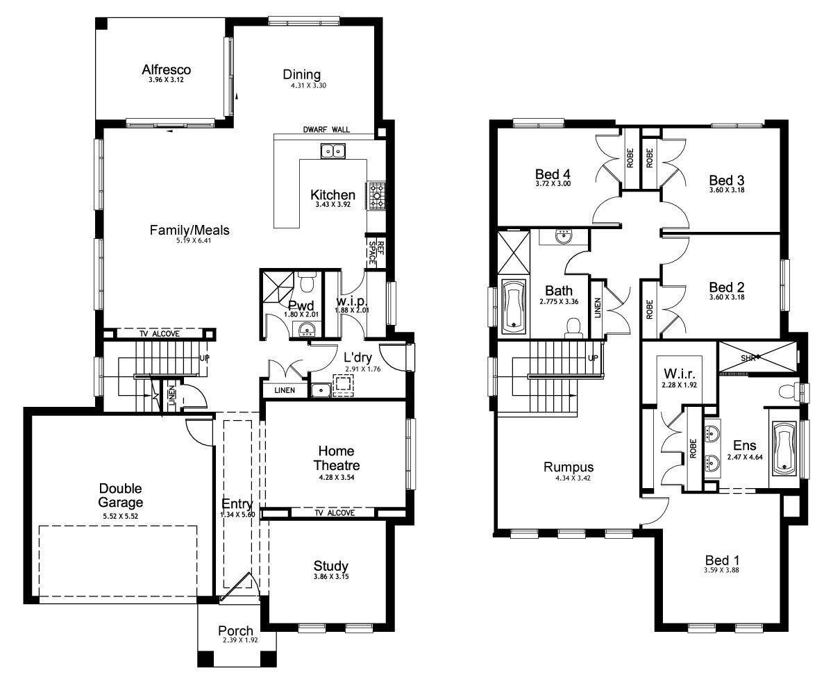 New Home Builders - Kurmond Homes | Mayfair 34 - Double Storey Home ...