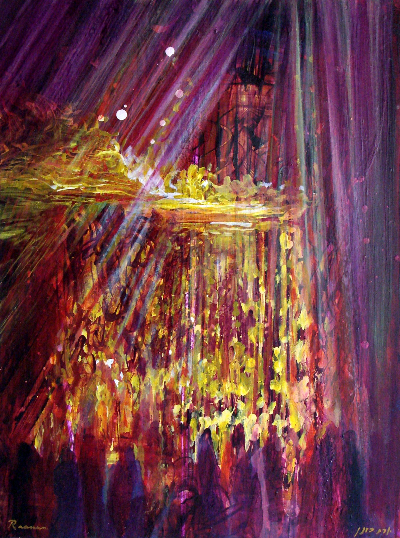 Golden Chuppah   Painting   Pinterest