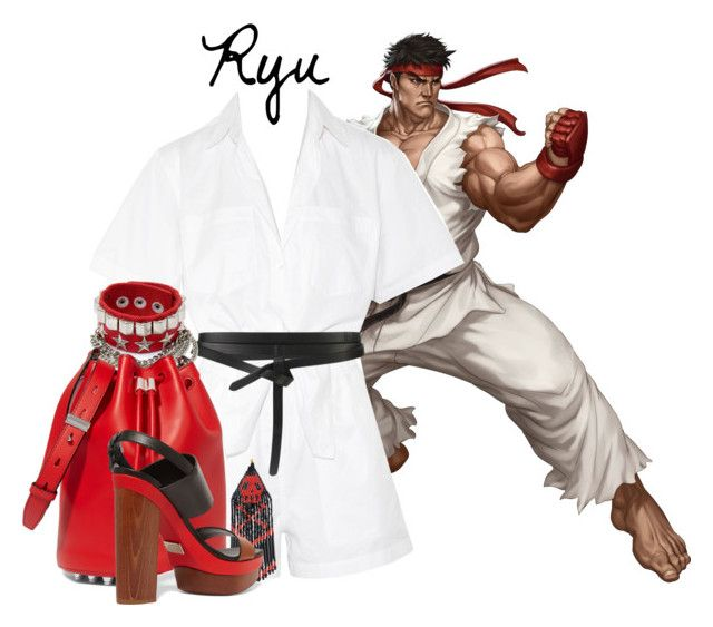 || Ryu ~ Street Fighter || by freezespell on Polyvore featuring T By Alexander Wang, Michael Kors, Alexander Wang, Forest of Chintz and Isabel Marant