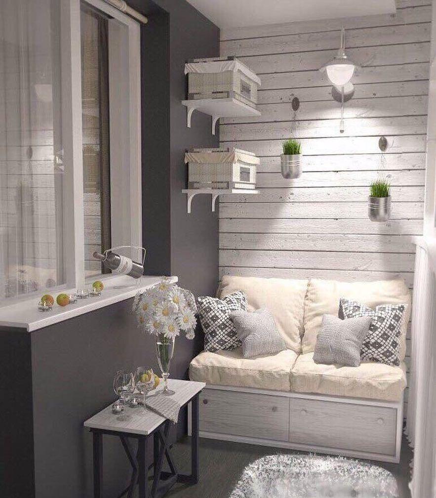 """Photo of Идеи для вашего дома on Instagram: """"Балкон"""""""