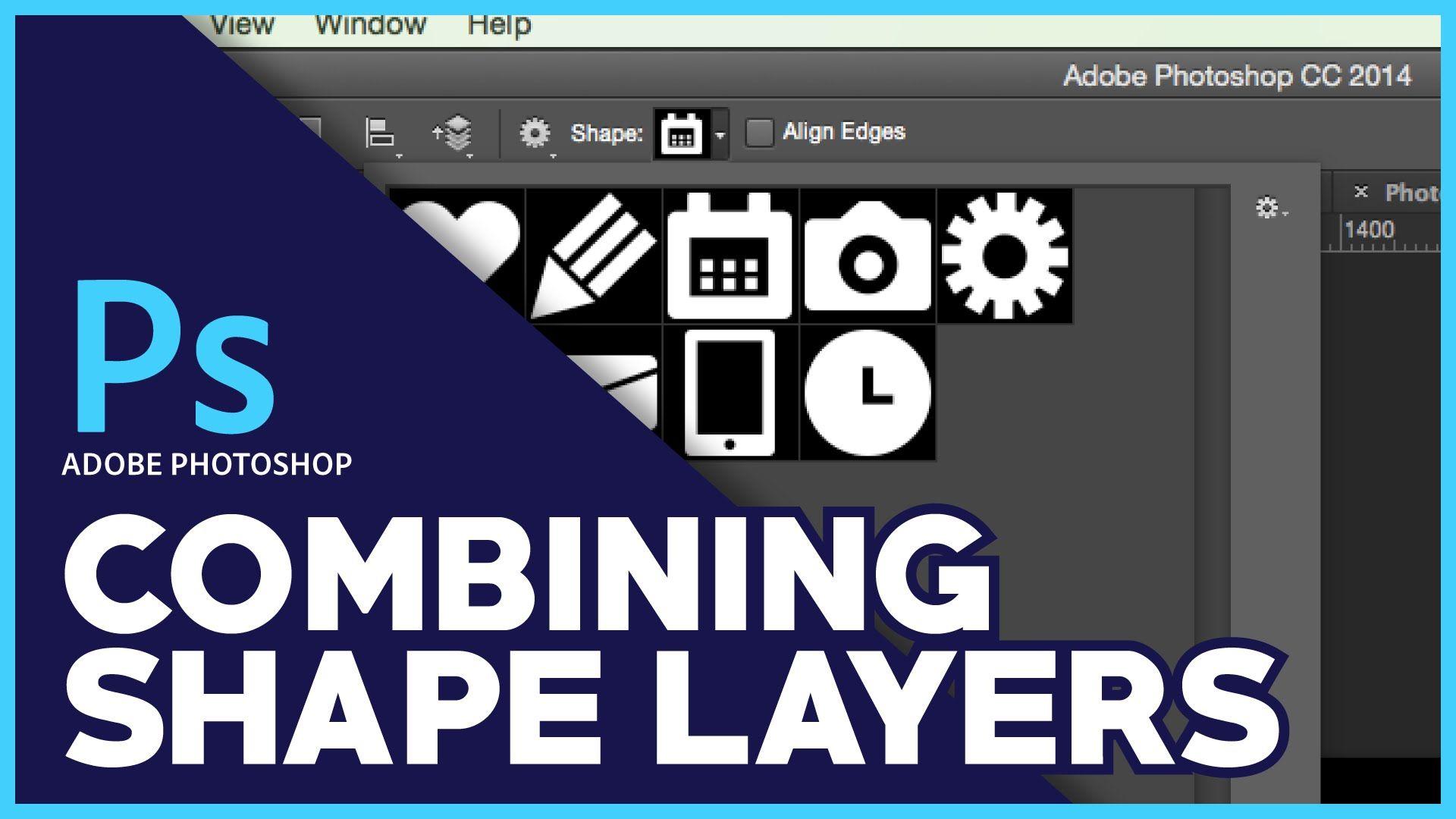 Adobe photoshop combine shape layers tutorial adobe photoshop adobe photoshop combine shape layers tutorial baditri Image collections