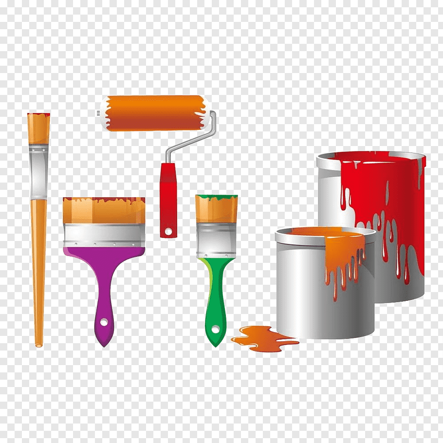 Paint Brush Paint Rollers Home Depot 5 Gal Homer Bucket Paint Brushes Bucket With Lid Bristle Tool Oran Paint Brushes Paint Roller Red Abstract Painting