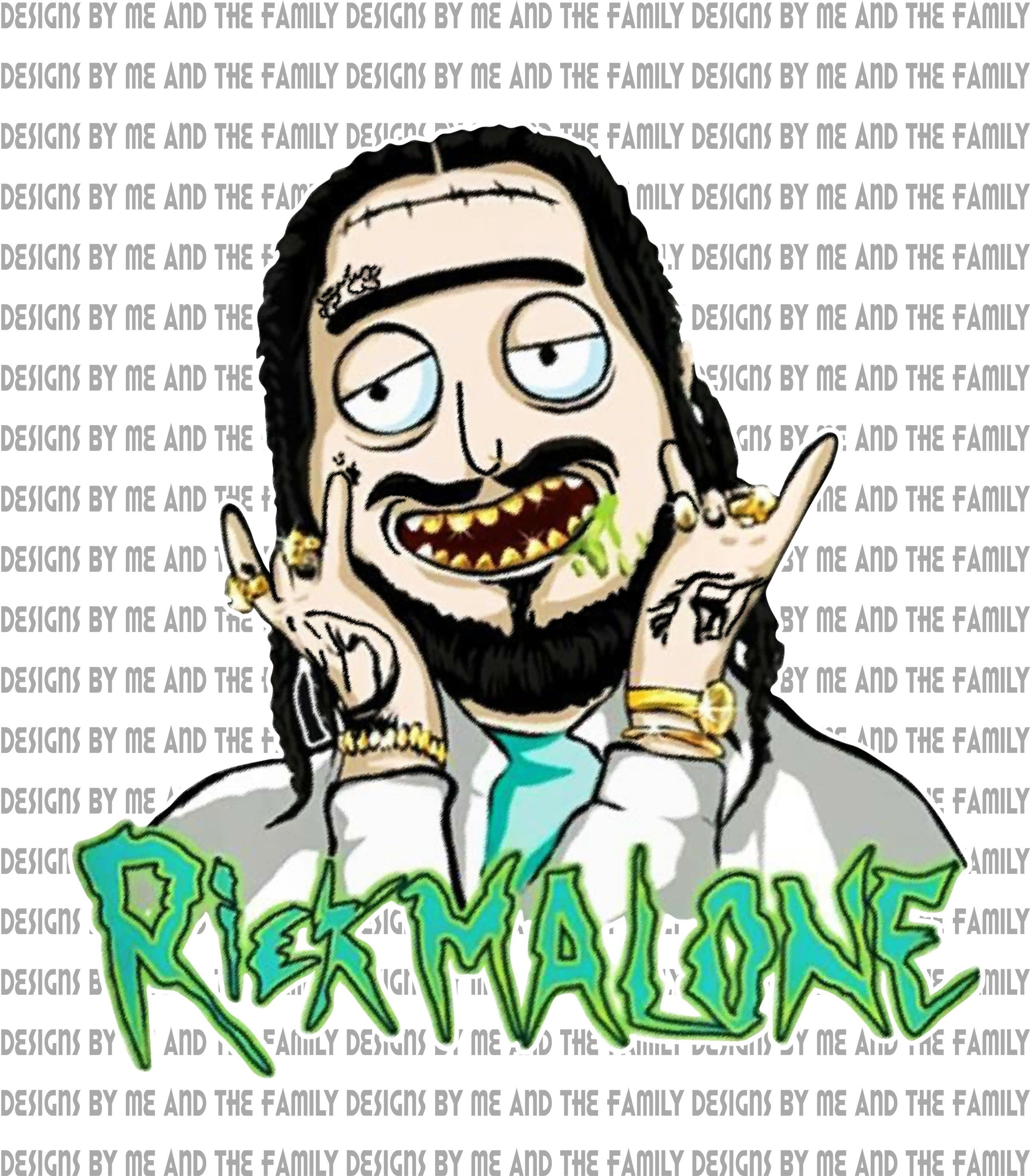 Rick Malone Rick And Morty Posty Zombie Leave Me Post Malone Im Not A Regular Mom I M A Posty Mom Post Malone Cartoon Sublimation Png Rick And Morty Rick And Morty