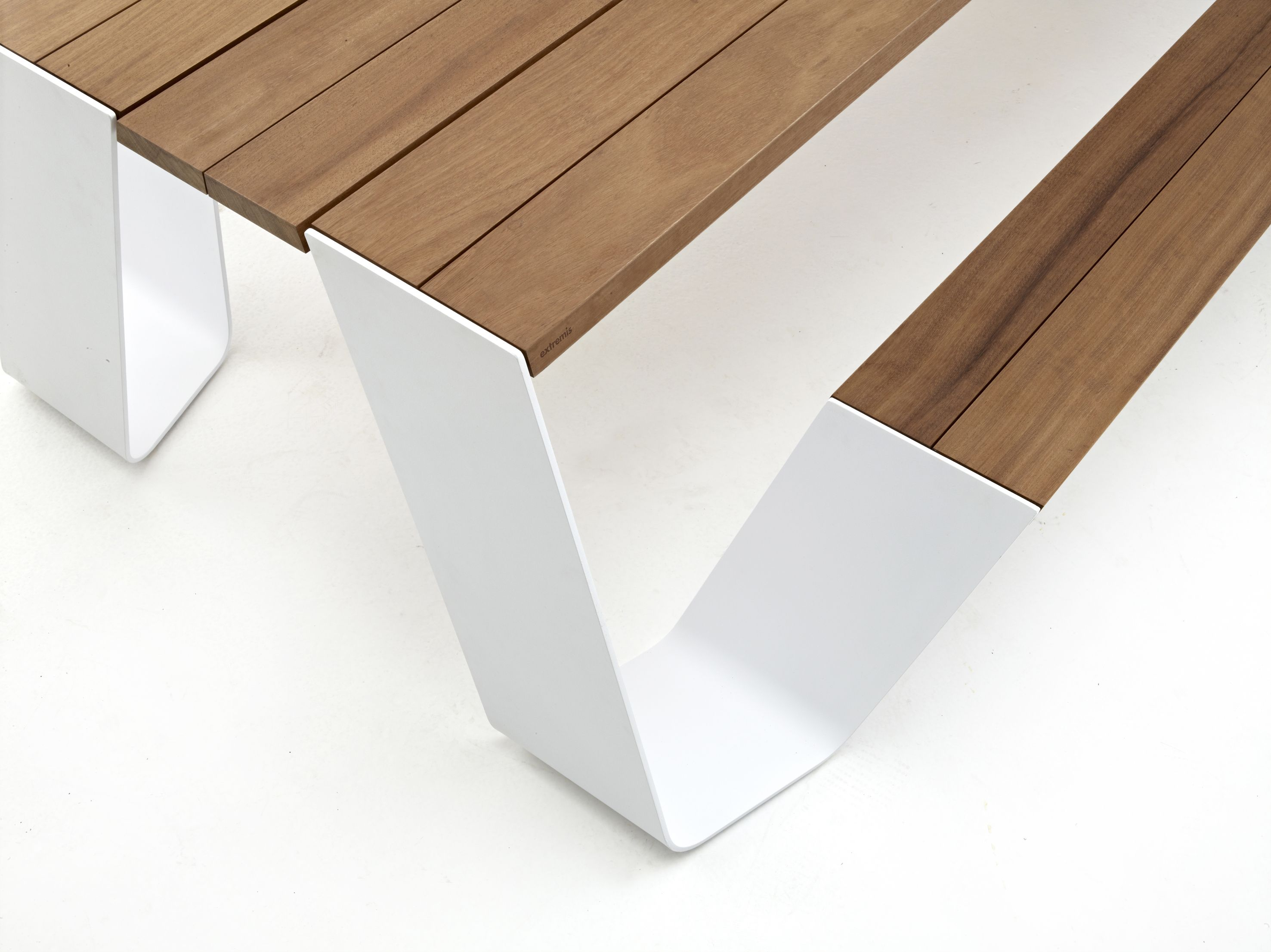 Modern Picnic Table Detail