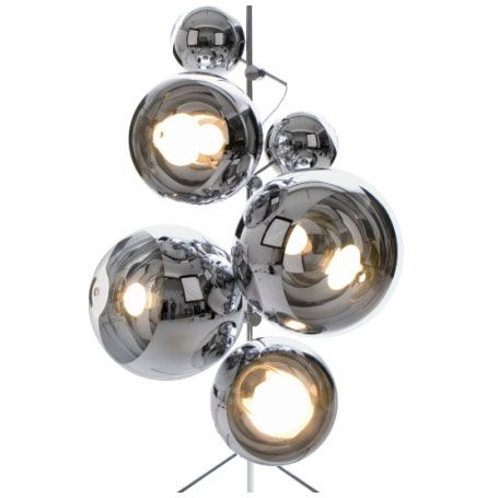 Mirror Ball On Stand By Tom Dixon 1stdibs Com Ball Lights Mirror Ball Ball Lamps