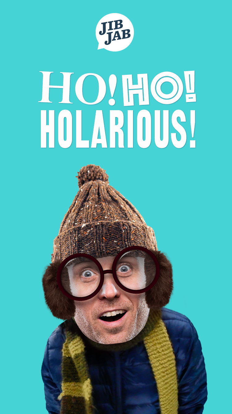 Its more fun to be ho ho hilarious and now its easier than ever send your holiday cards the fun fast and easy way with jibjab bookmarktalkfo Gallery