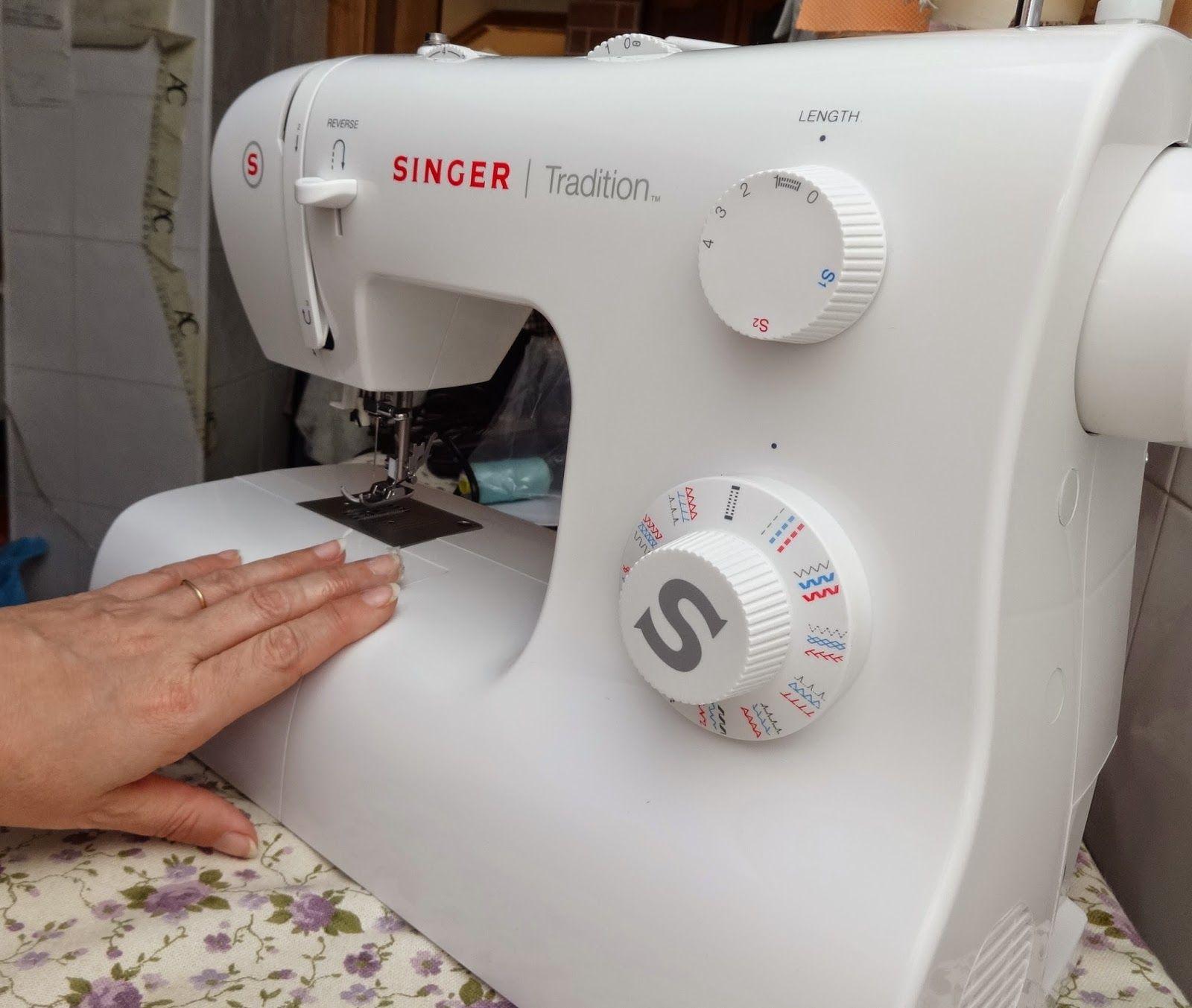Tutorial: Aprender a coser a máquina Singer TRADITION , la máquina ...