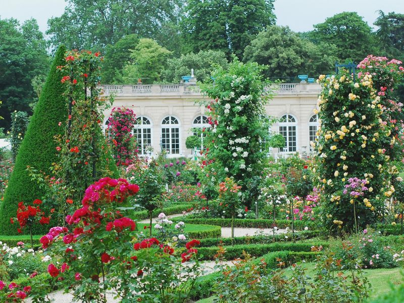 Five Paris Parks Tuileries Luxembourg Boulogne Monceau