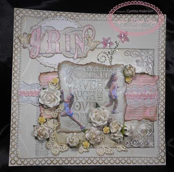 Scrapbook Layout using @Anna Totten Totten Totten Totten Griffin, Inc. Scrapbook.com: Georgette Collection