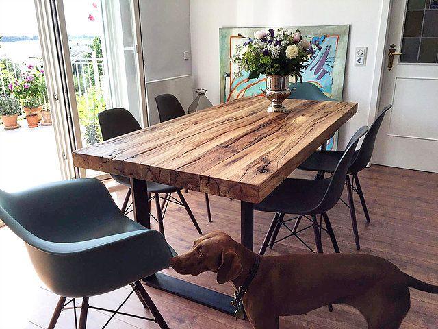 Esstische aus massivholz nach ma von holzwerk hamburg wir fertigen ihren individuellen tisch - Esszimmer holzmobel ...