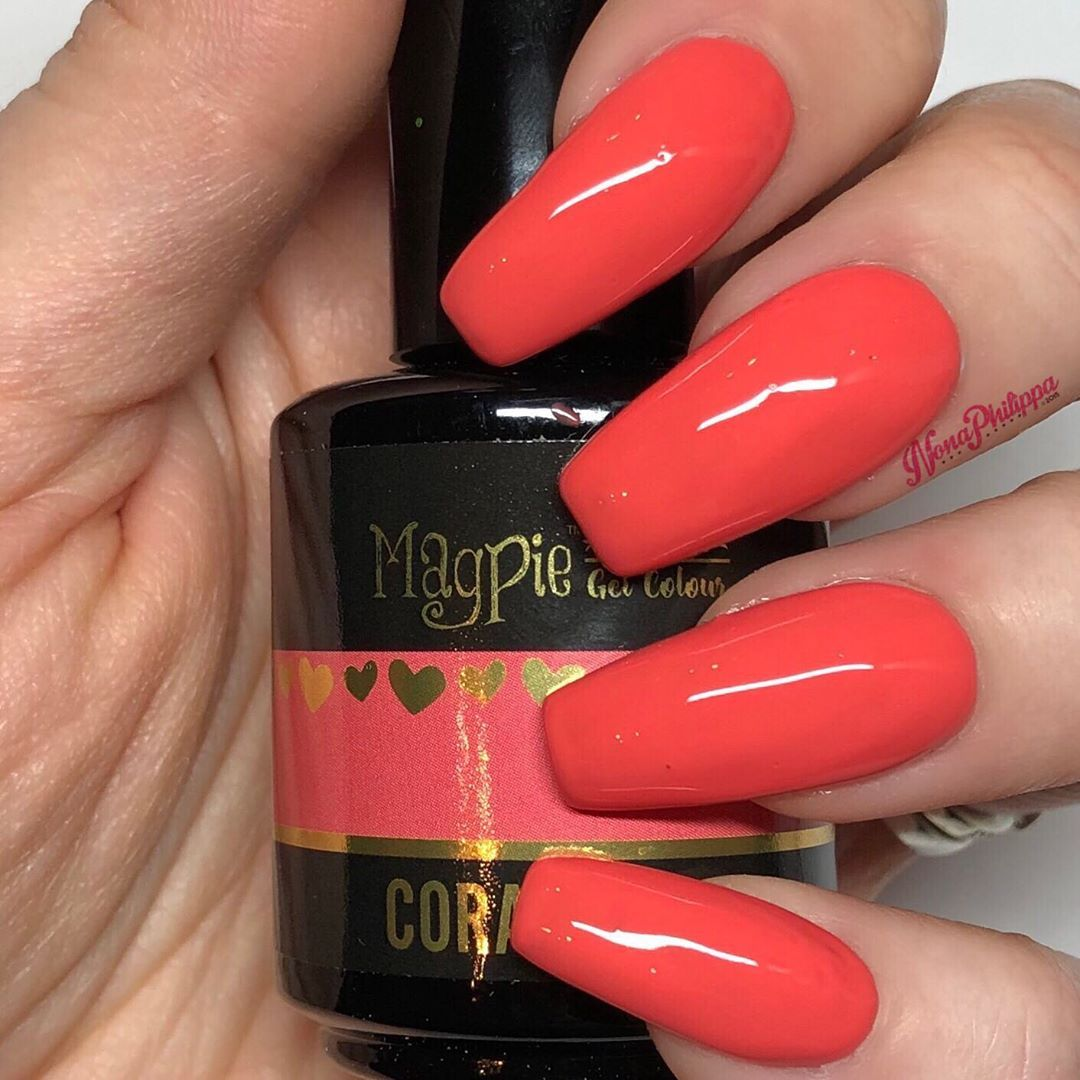Next Swatch Up Is Coral Reef From The Brand New Magpie Beauty
