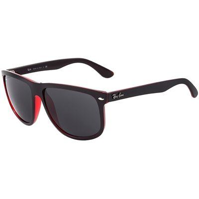 Óculos de Sol Ray Ban Highstreet Masculino Vermelho e Preto - RB4147617187 f139bcffc4
