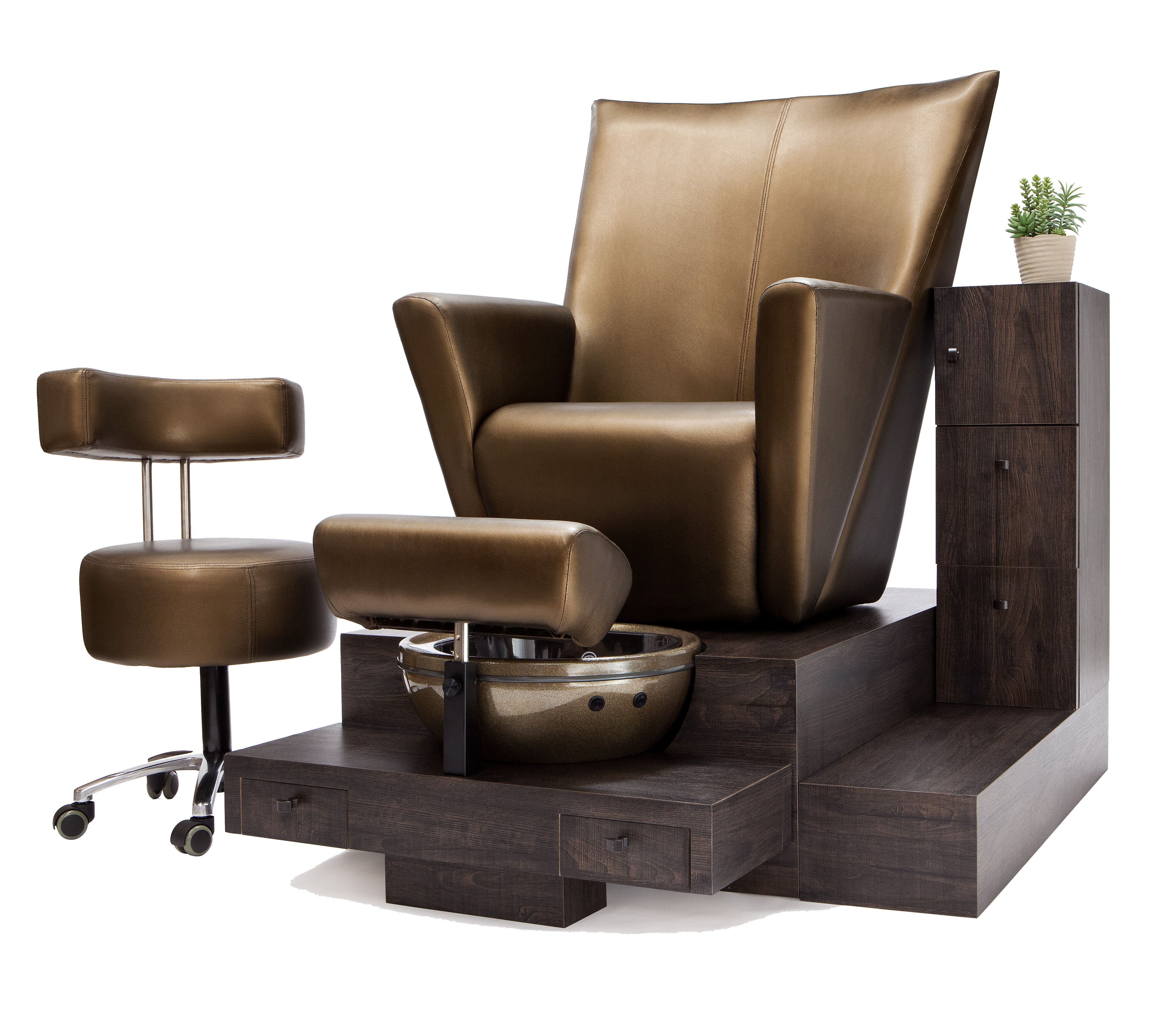 Coming Soon Belava's new Pipeless Elevating Pedicure Throne...... Rise up your client & save your back! Uses Belava's fitted disposable liners for sanitation