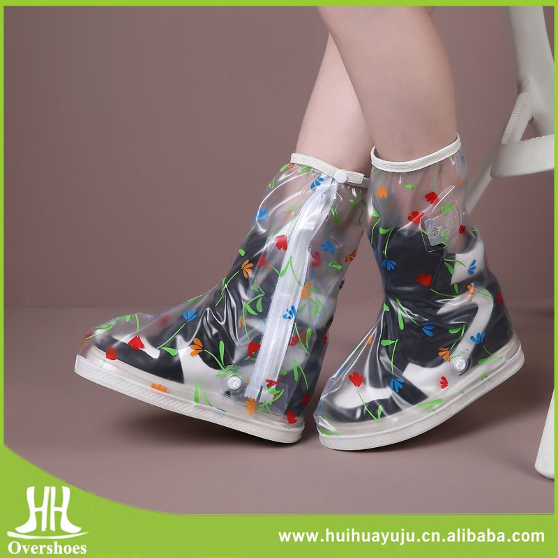 c051ec4ec8 Fashion Waterproof Foldable Rain Shoes Boots Covers Protector for ...